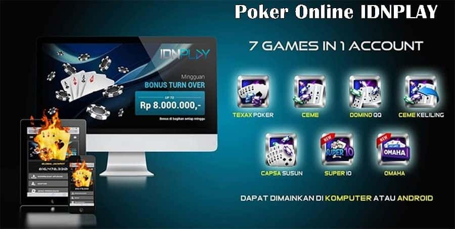 Agen Daftar IDN Poker Online Indonesia Terpercaya